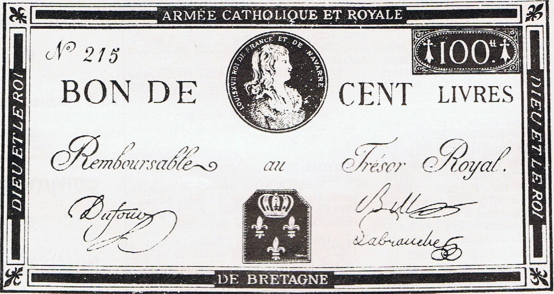 Assignat grande armee 1793
