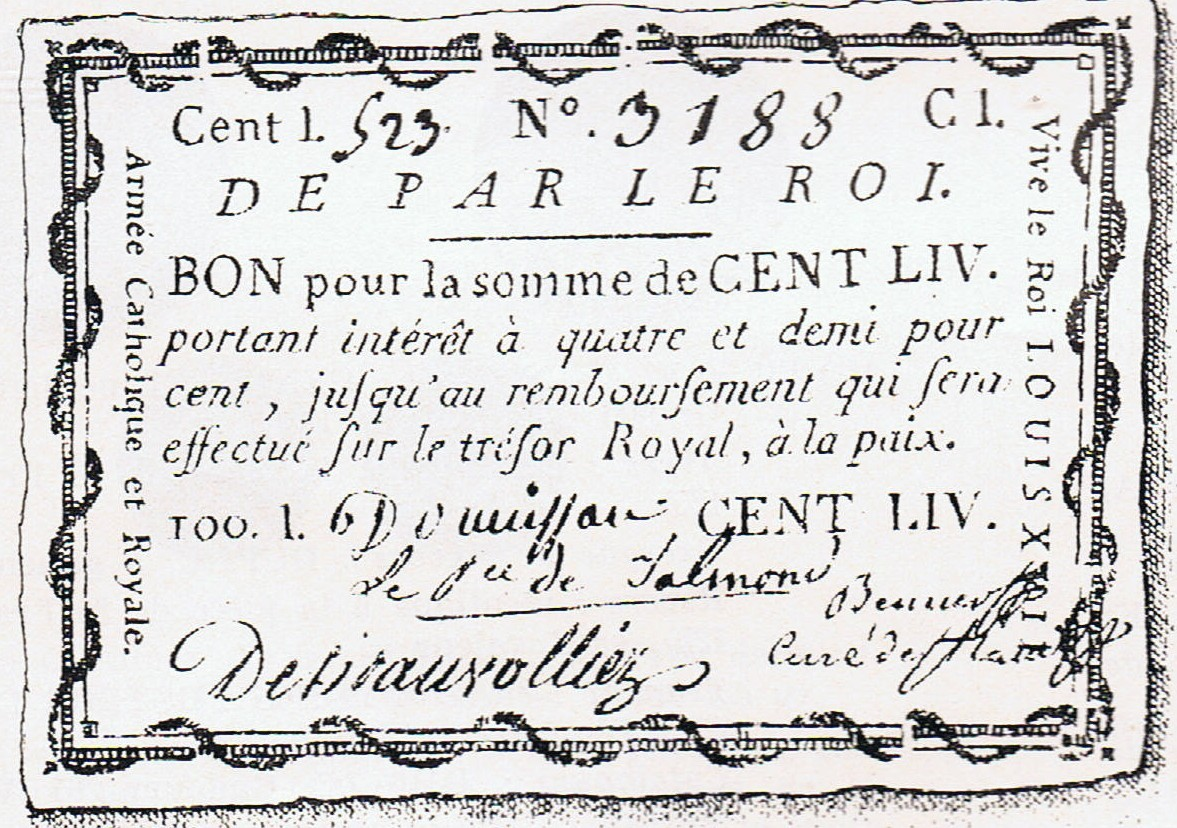 Bon royal beauvollier 1793