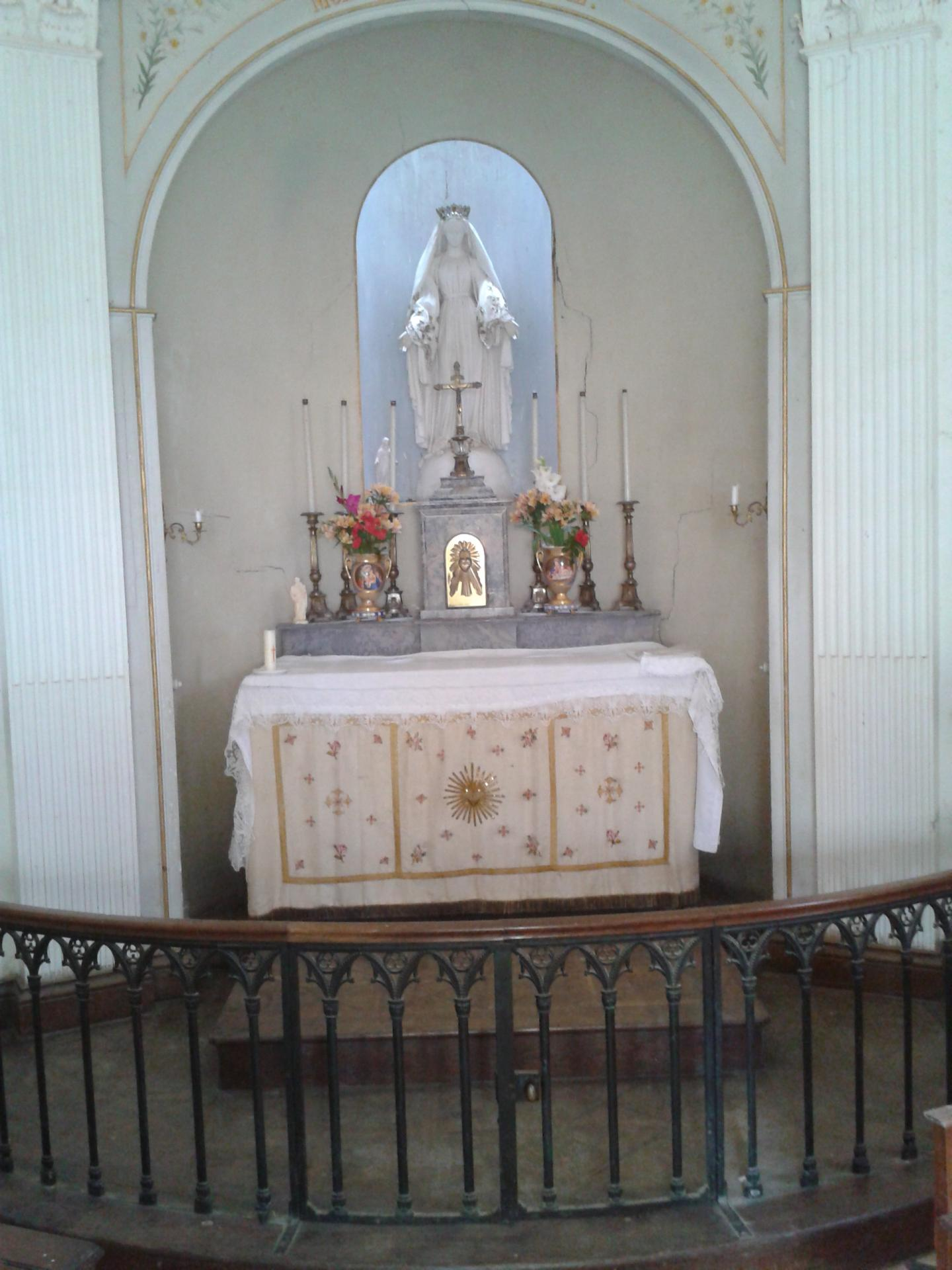 Chapelle chateau de fresnay