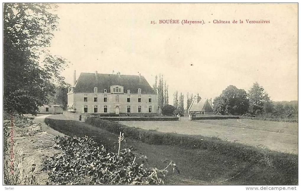 Chateau de la vezouzieres bouere