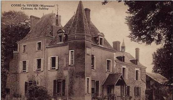 Chateau de sublay cosse