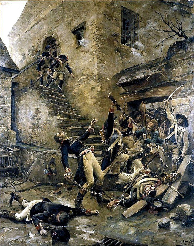 Mort beaupuy entrammes 1793